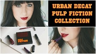 Urban Decay Pulp Fiction: First Impressions & Tutorial (Mia Wallace) | Gemsmaquillage Thumbnail
