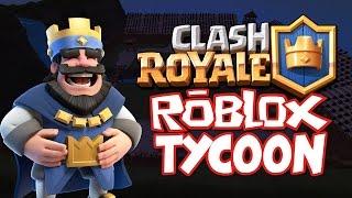 CLASH ROYAL TYCOON!    ROBLOX EN ESPAÑOL