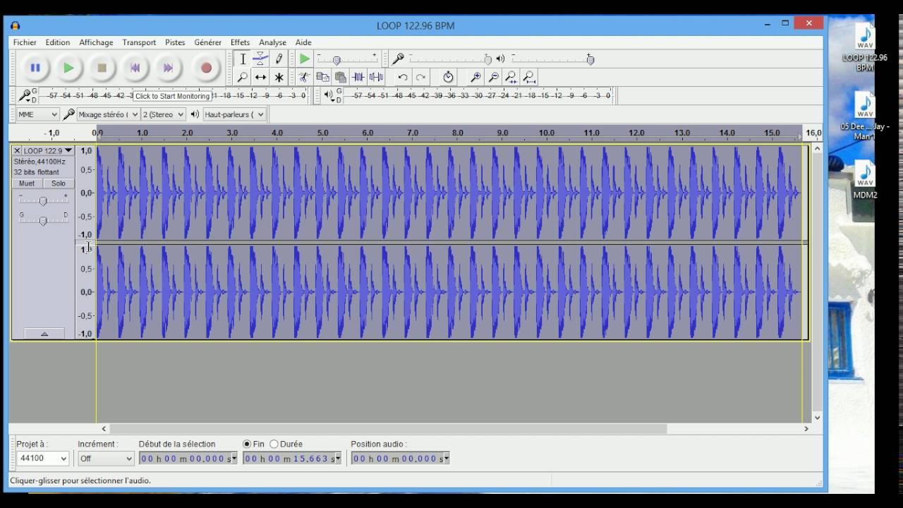 AUDACITY TUTO n°5 (BPM / Rythme / Tempo)