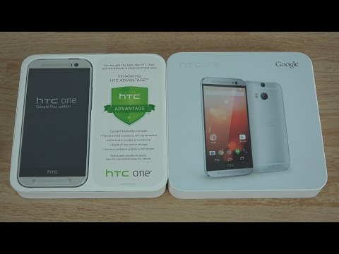 HTC One M8 Google Play Edition (GPE) Unboxing and First Look! (Ultra HD 4K)