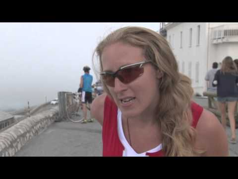 "Mont Ventoux    ""High and Higher"". Women at the top!"