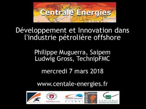 Dveloppement et innovation dans l'industrie pétrolière offshore
