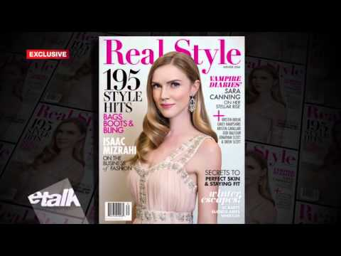 Sara Canning talks to eTalk about her Real Style photoshoot