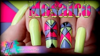 Nail Art Mosaico - Nill Art