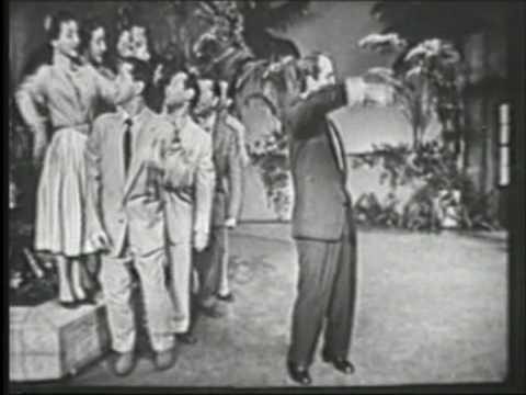 Perry Como Papa Loves Mambo Perry Como Show '54B&W ORGINAL