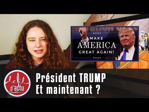Président Trump. Et maintenant ?