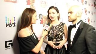 Премия МузТВ 2016 - Интервью с Artik & Asti