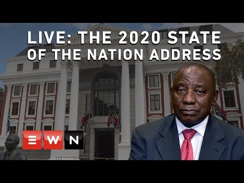 LIVE: The 2020 State of the Nation Address