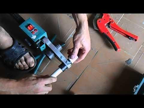 Какие использовать насадки для сварки полипропиленовых труб