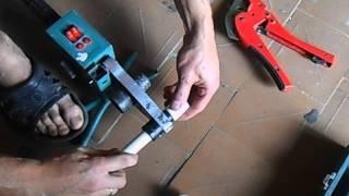 Какие использовать насадки для сварки полипропиленовых труб(Насадки для пайки полипропилена видео., 2014-08-17T08:07:50.000Z)