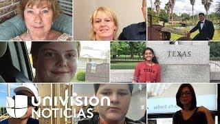 Video: Los rostros de las 10 víctimas que dejó el tiroteo en una secundaria de Texas