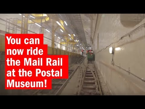 You can now ride the Mail Rail at the Postal Museum!