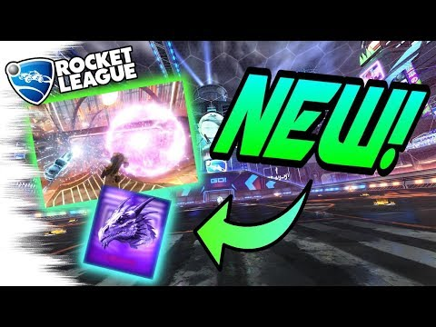 Rocket League Gameplay of 3 NEW BLACK MARKETS LEAKED! - Twin Dragons, Polygonal, Christmas (Update)