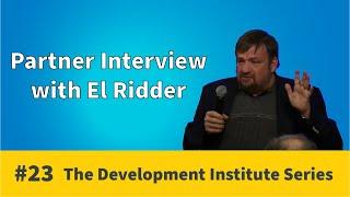 Partner Interview - El Ridder | Development Institute