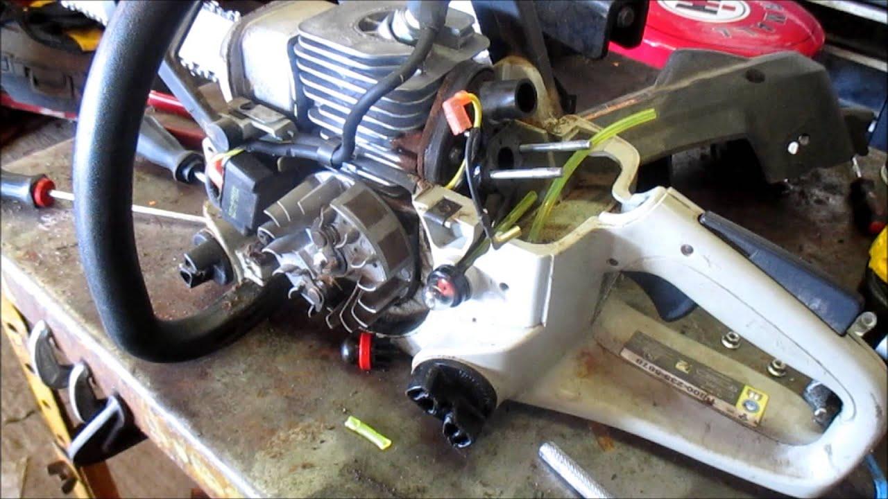 diy craftsman chainsaw repair primer bulb [ 1280 x 720 Pixel ]