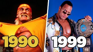 Ranking Who Was Really The Man In Wrestling Every Year 1990-2020