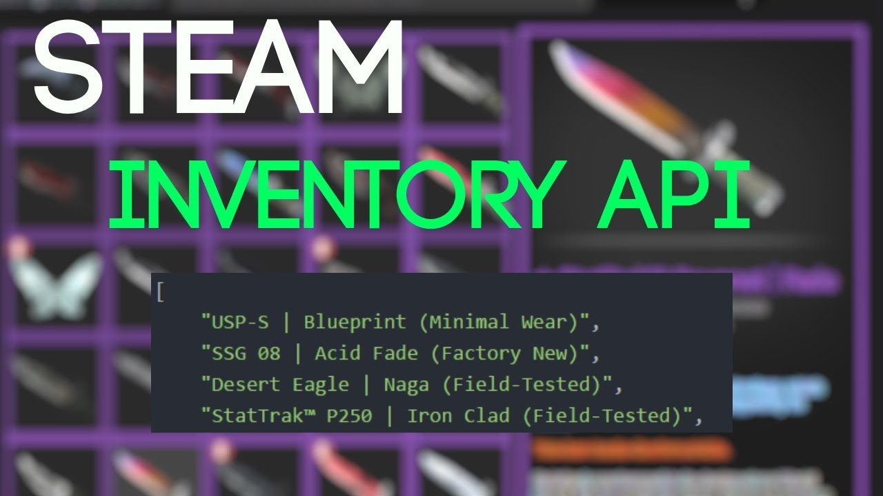 Save and show inventories in nodejs 2 steam inventory api youtube save and show inventories in nodejs 2 steam inventory api malvernweather