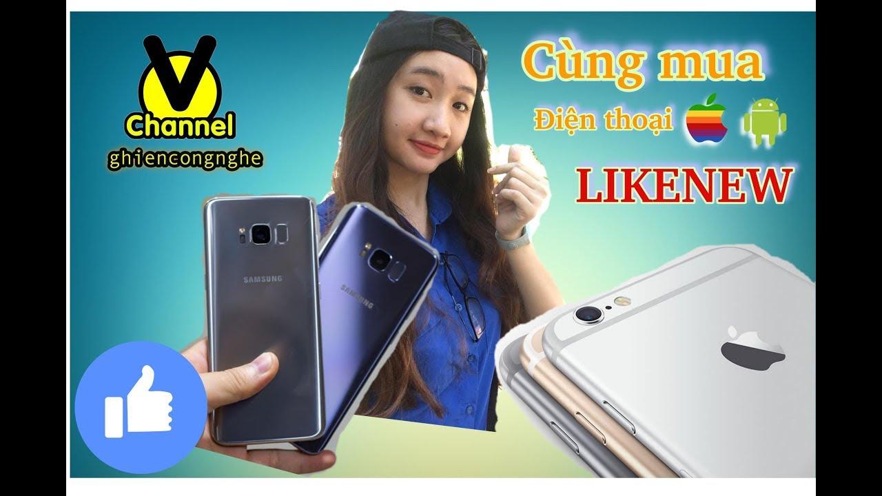Cùng V channel tơi Viendong Mobile mua điện thoại cũ nhé