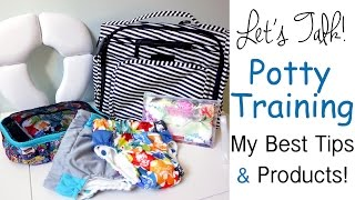 Let's Talk! Potty Training: My BEST Tips and Favorite Products - Kanga Care & Ju-Ju-Be!