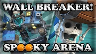 COMPLETE GAME UPDATE & Wall Breaker in Clash Royale 🍊