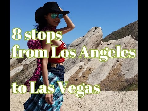 8 Stops/8hours from Los Angeles To Las Vegas {15 & route 66}