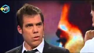 El tenso cara a cara entre Johnny Herrera y Álvaro Escobar