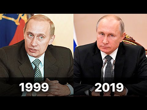 How Vladimir Putin was changing by 20 years of Power on videos. #PutinStyle