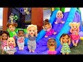 Baby Alive Playdate Fun   Bounce House  Playpark   Water Balloons