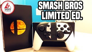 Smash Bros Ultimate Limited Edition Unboxing - Smash Bros Pro Controller Review