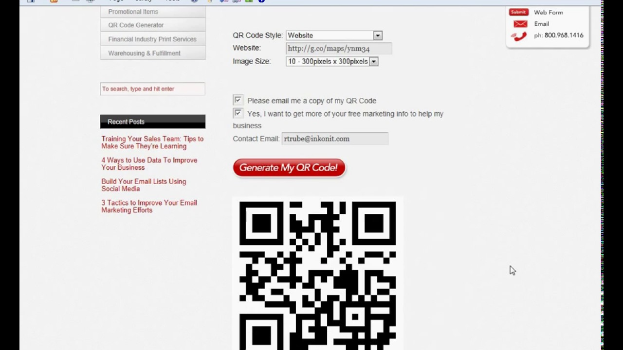 Google Maps QR Code Tutorial from Superior Business Solutions - YouTube