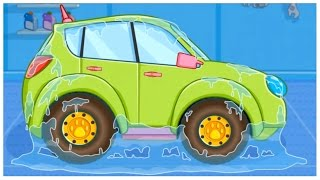 Cartoons for Kids - Car Ride App Demo! Panda CAR WASH & Garage for Children