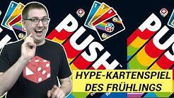 Push - Das Hype-Kartenspiel des Frühlings 2020 (Prospero Hall, Ravensburger 2020)