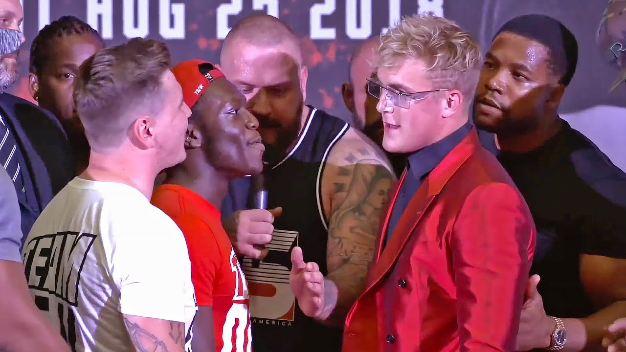 JAKE PAUL VS. DEJI PRESS CONFERENCE [HIGHLIGHTS]