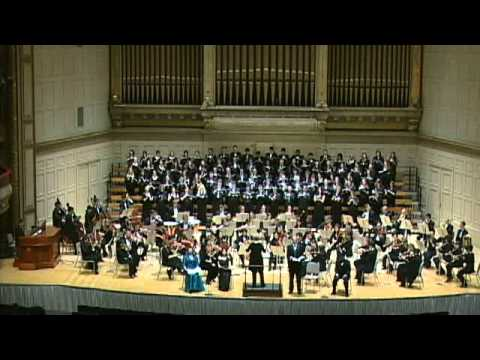 Mendelssohn's Elijah, conducted by Ann Howard Jones
