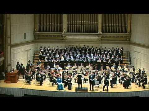 Mendelssohn's Elijah, conducted by Ann Howard Jones