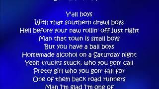 Y'all Boys - Florida Georgia Line ft. Hardy Lyrics