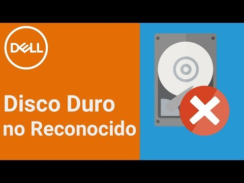 Disco Duro no reconocido - Disco duro no detectado