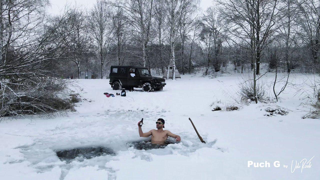 4x4 Wintersport für die ganz harten - Mit dem Puch G / Mercedes G zum Baggersee