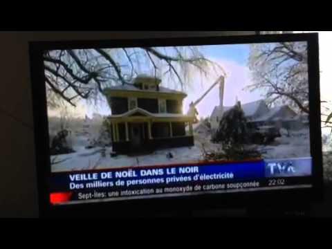 Panne de courant au Québec 2014 du au verglas