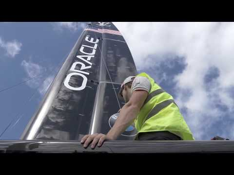 America's Cup 2017, AC50 Yacht, May 22 2017