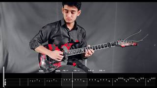 Ghum Vanga Shohor - Ayub Bacchu (LRB) (Guitar Solo Cover with Tab) | Tanvir | Bangladesh