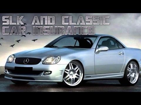 R170 SLK and classic car insurance