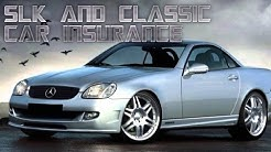 R170 SLK and classic car insurance