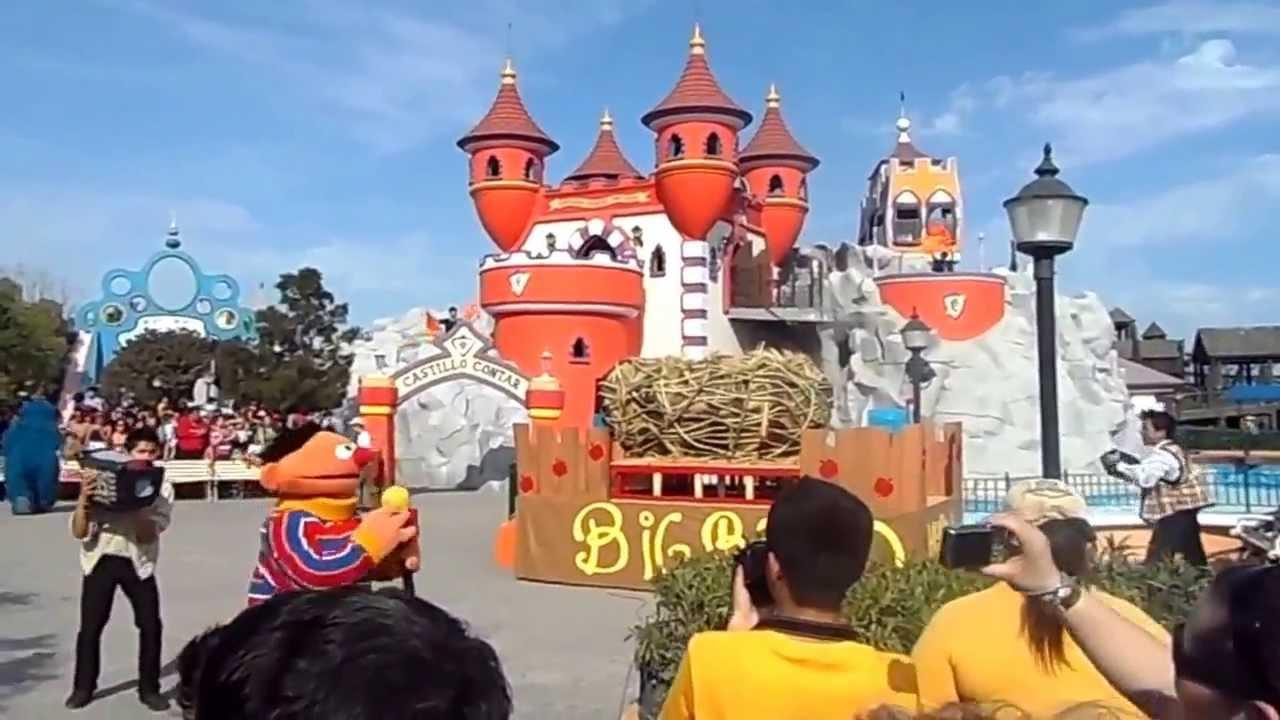 Bienvenido Big Bird A Parque Plaza Sesamo Youtube