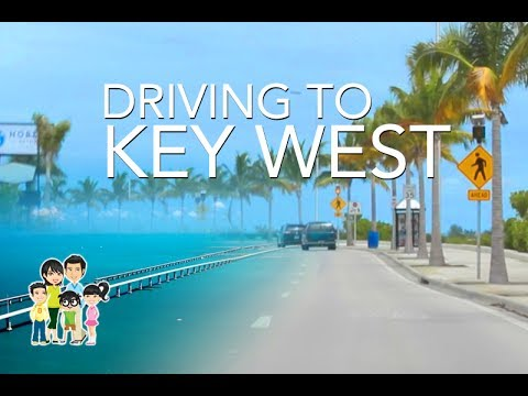 Overseas Highway US 1: Drive fr Fort Lauderdale to Key West, Florida USA