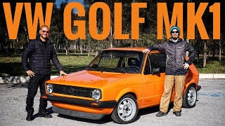 VW GOLF MK1; Delifişek viraj faresi