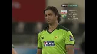 vuclip Shoaib Akhtar Classic - Hit the batsman then bowl him out