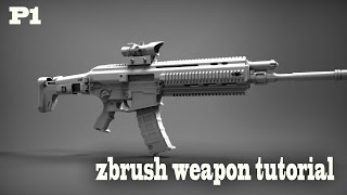 zbrush weapon tutorial