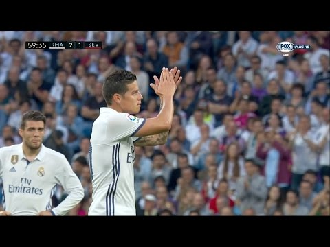 James Rodriguez vs Sevilla Home HD (14/05/2017) by JamesR10™