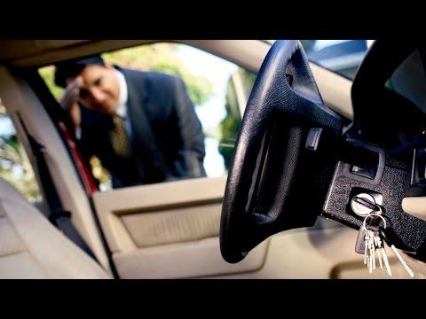 Захлопнул ключи с работающим двигателем VW CADDY